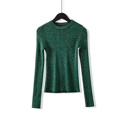 Kora - Long Sleeve Knitted Sweater