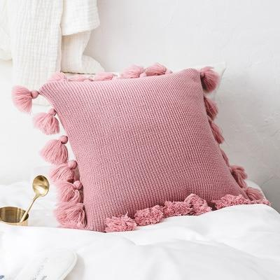 Vera -  Knitted Cushion Cover