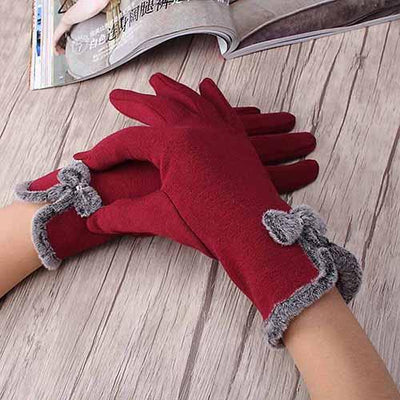 Mona Elegant Womens Touch Screen Gloves