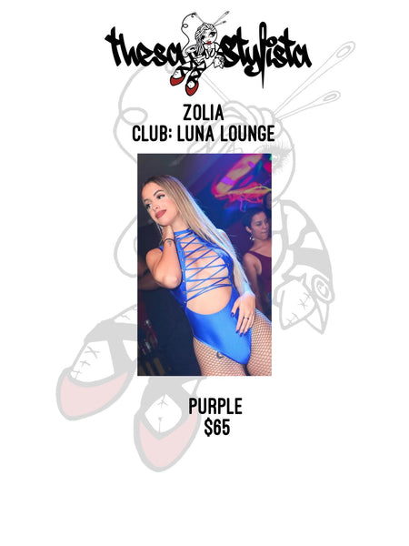 Luna Lounge - Purple Uniform