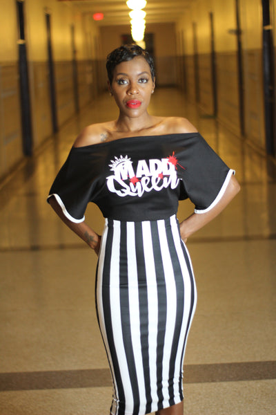 Madd Queen Zipper Tee