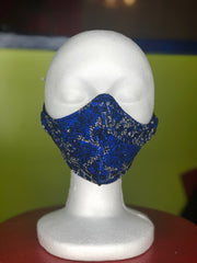 Blue Illusion Snake Skin