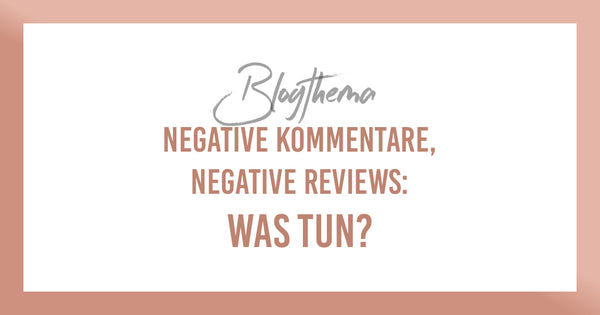 Negative Kommentare, Negative reviews – Was tun? Wink Lashes Blog