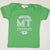 Hand Screen Printed Love Montana Green Kids 18-24 Months T-Shirt