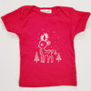 Hand Screen Printed Reindeer Kids Size 18-24 Months T-Shirt