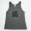 Hand Screen Printed Adventure Womens Tank Top