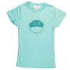 Hand Screen Printed Blowfish Girls T-Shirt