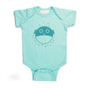 Hand Screen Printed Blowfish Baby Onesie