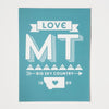 Sticker Love Montana