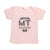 Hand Screen Printed Love Montana Light Pink Kids 18-24 Months T-Shirt