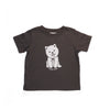 Hand Screen Printed Dog Wuf You Kids LOOSE FIT T-Shirt