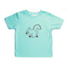Hand Screen Printed Squirrel Nuts 24 Months Kids Loose Fit T-Shirt