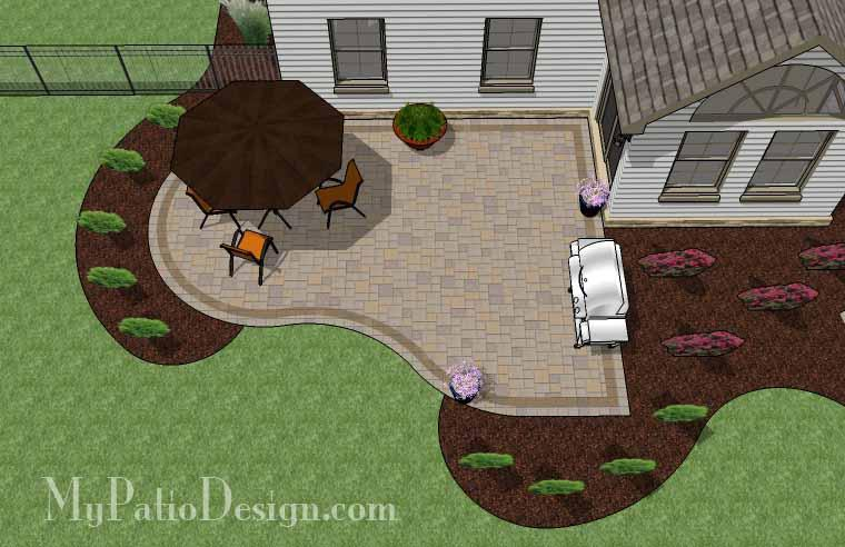 Paver Patio #08-039001-01