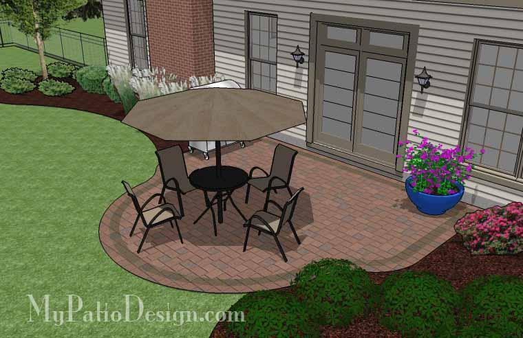 Paver Patio #S-027001-01