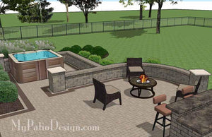 Paver Patio #S-077501-01