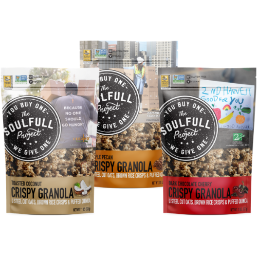 The Soulfull Project Crispy Granola perfect for granola cookies