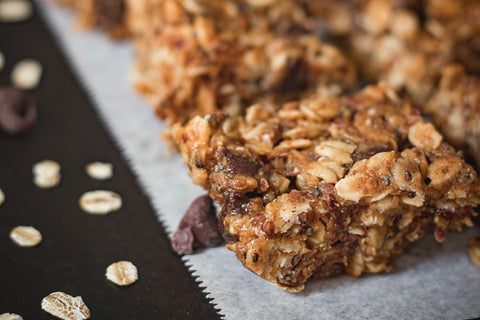 Granola bar breakfast without eggs