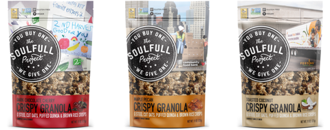 Gluten free granola from The Soulfull Project