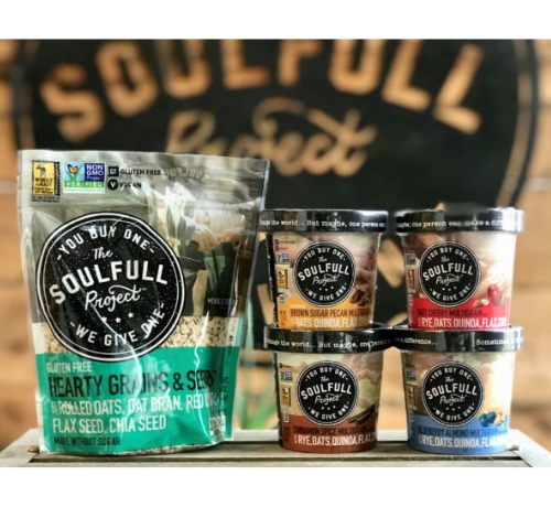 The Soulfull Project with granola nutrition