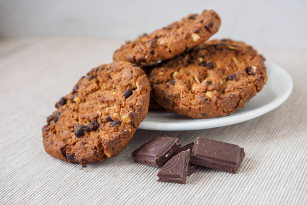 Healthy Oatmeal Cookies With Chocolate Chips