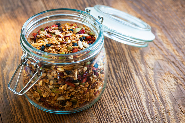 Granola with nut and fruits