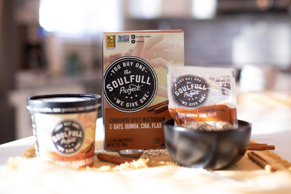 Gluten Free Soulful Project Oatmeal packages showing is oatmeal good for you