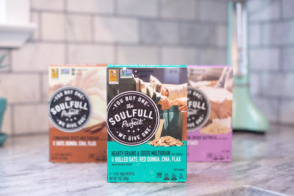 The SoulFull Project Hearty Grains Boxes