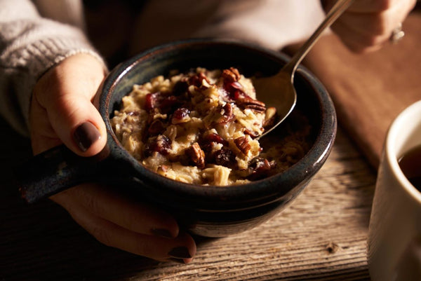 walnuts and other nuts for oatmeal toppings