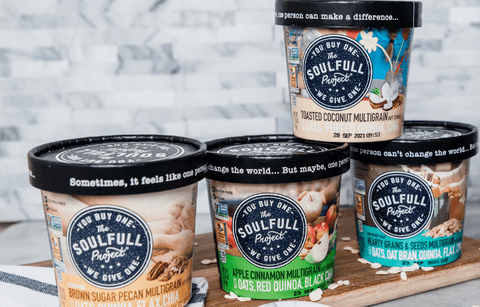 The Soulfull Project oatmeal for overnight oats