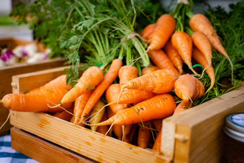 container of carrots