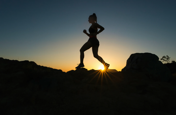 woman out exercising  wondering  is granola good for you?