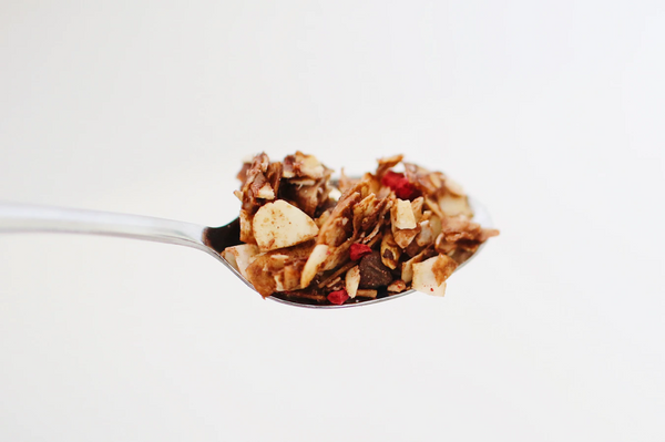 a spoonful of granola