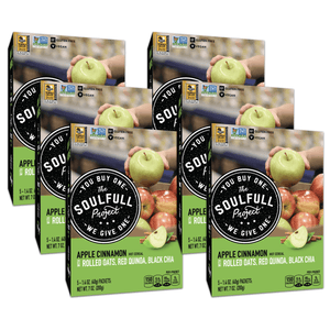 Apple Cinnamon Multigrain Hot Cereal Cartons Case