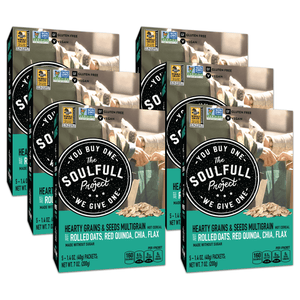 Hearty Grains & Seeds Multigrain Hot Cereal Cartons Case