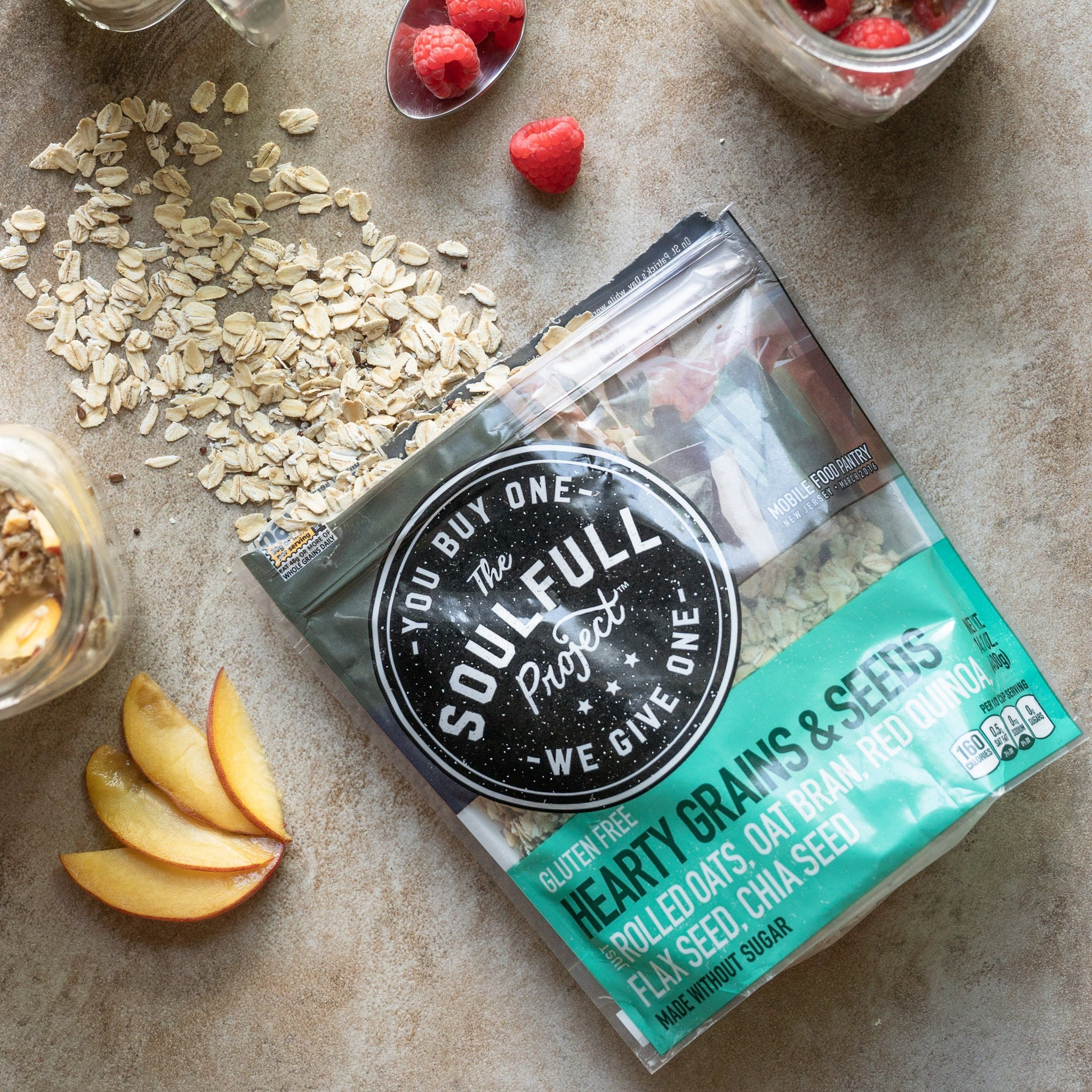 Hearty Grains & Seeds Hot Cereal Multi-Serve Bag