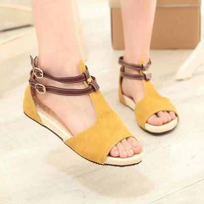 Summer High Quality Bohemia Leisure Flat Sandals