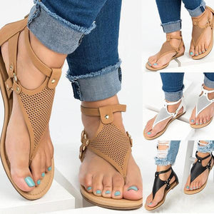 Women Summer Flat Roman Casual Sandals
