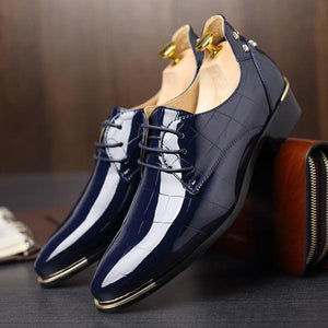 New Fashion Male Genuine Leather Alligator Casual Shoes