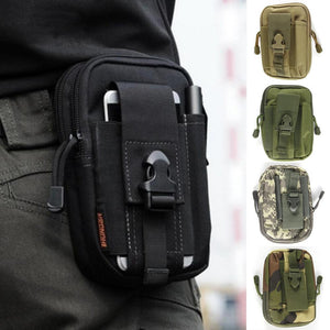 Outdoor Multifunctional Tactical Drop Oxford Cloth Bag Hiking Travel Tool Waist Pack Motorcycle Sports Ride Pack 5 Colors