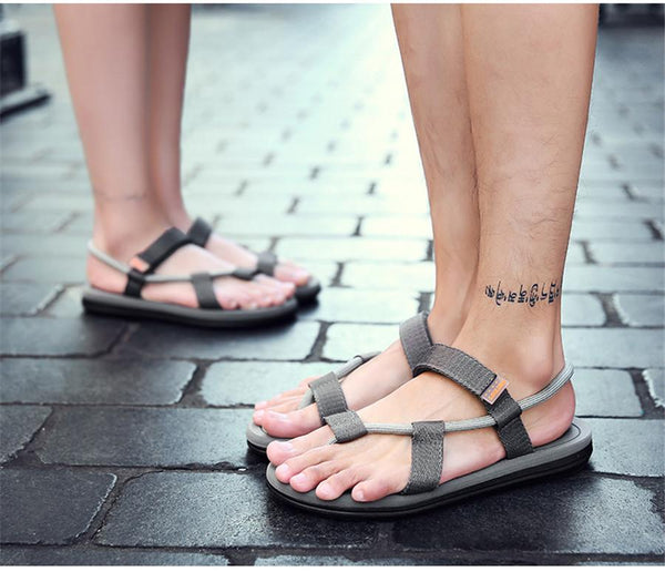 Outdoor Fashion Beach Shoes Lovers Breathable Sandals