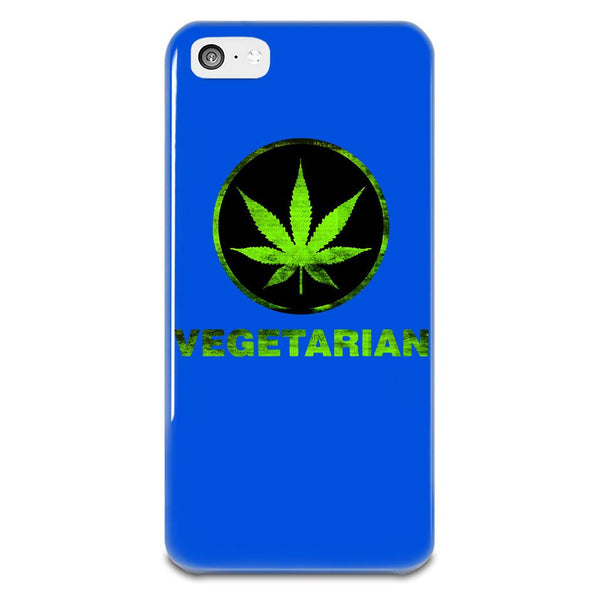 Vegetarian Cannabis iPhone 5-5s Plastic Case