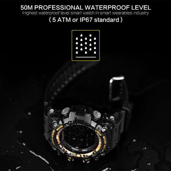 Professional Waterproof Sport Bluetooth Smart Watch