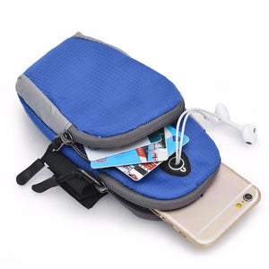 5.5inch Sports Running Jogging Gym Armband Arm Band Holder Bag For Mobile Phones free shipping