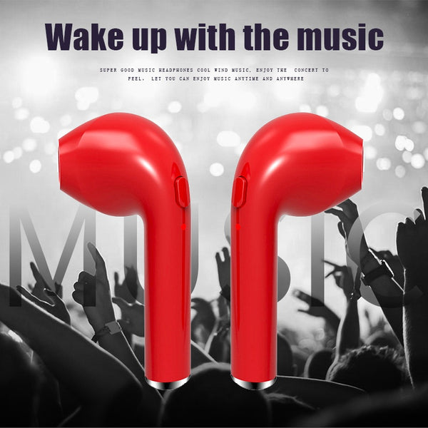 In-Ear V4.2 Wireless Bluetooth Headset With Mic