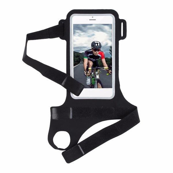 Running Riding Arm Band Case Waterproof Outdoor Wrist Bag For iPhone Case Sport Mobile Phone Holder Bags
