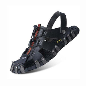 Genuine Leather Gladiator Beach Slippers Sandals