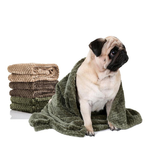 3 Colors Pet Dog Cat Bed Blanket Foldable Cushion