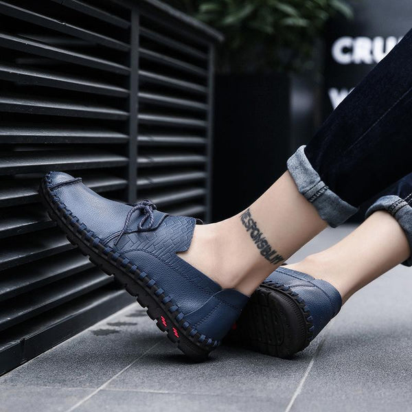 Business Elegant Hand Sewing Casual Shoes