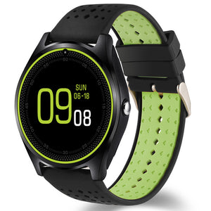 V9 Bluetooth Smart Watch With Micro SIM Card And Camera