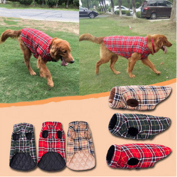 Dog Clothes New Buckle  Dog Coat Pet Clothing Jacket